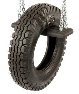Schaukelsitz mit Reifen