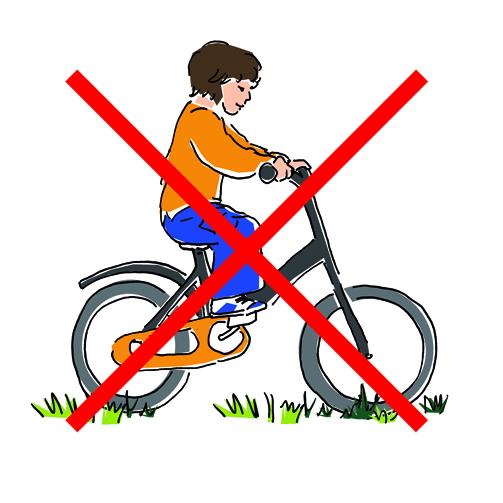 Fahrradverbot