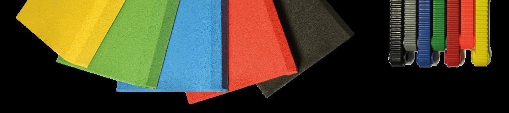 Randplatten Trampoline Serie Color