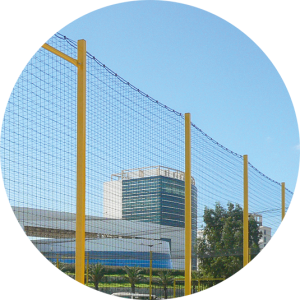 Tri-Poli Multisportanlage Ballfangnetz