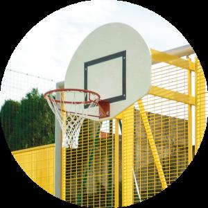 Tri-Poli Multisportanlage Basketballkorb