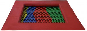 Trampolin color 2020, Sprungmattenmuster
