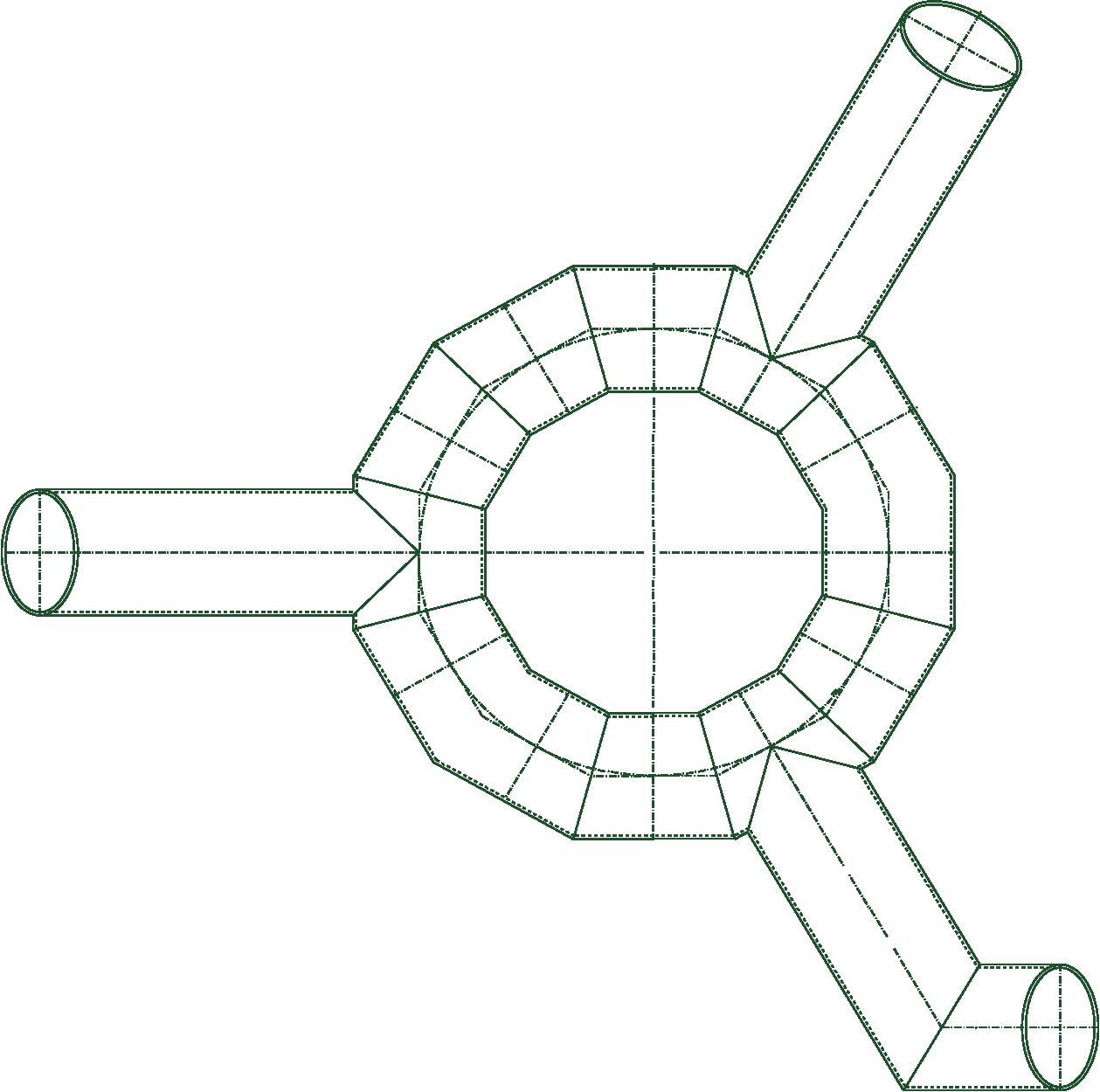 Zeichnung Kriechröhre