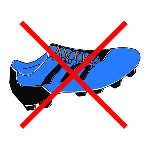Fußballschuherbot