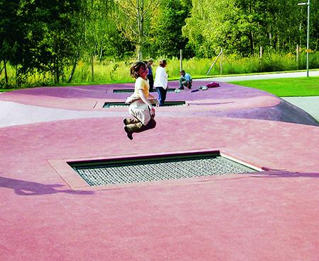 trampoline Serie Color